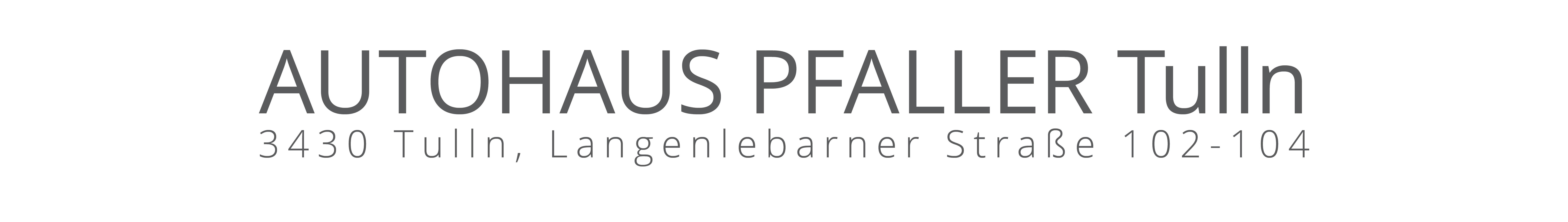 Logo Autohaus Pfaller
